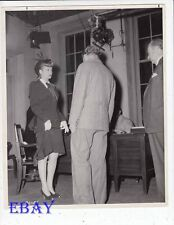 Lucille ball Director Douglas Sirk Lured VINTAGE Photo candid on set