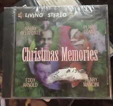 NEW CD CHRISTMAS MEMORIES Living Stereo HARRY BELAFONTE Perry Como Eddy Arnold