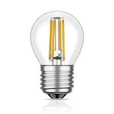 E27 LED Lampe Filament G45 4W =35W warm-weiß 380lm A++ für innen und außen