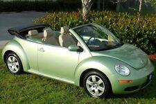 2007 Volkswagen Beetle-New -RUST FREE RARE NEW BLUE TOP~GECKO GREEN