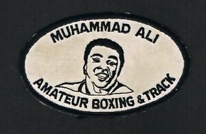 RARE vintage 1970's pictures Muhammad Ali large boxing patch boxer Cassius Clay