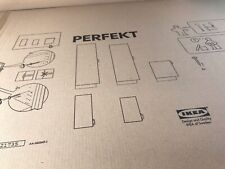 Ikea White Panel/Door/ Bookcase/ Shelves/Storage~PERFEKT~JUST AS PICTURED~NEW~