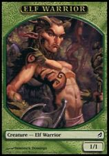 MRM FRENCH Token - Jeton Elf Warrior - Elfe Guerrier 1/1 MTG magic LRW