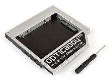 Opticaddy SATA-3 second HDD/SSD Caddy for Dell Latitude E5400 E5420 E5420M E5430