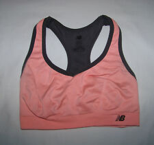 5e8dc907569e9 New Balance Women's Racerback Athletic Sports Bra S Small Pink