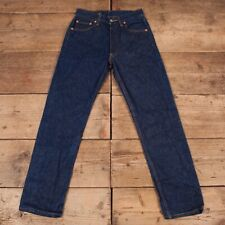 "Womens Vintage Levis Red Tab 501 Indigo Blue Denim Mom Jeans 29"" x 32"" R14556"