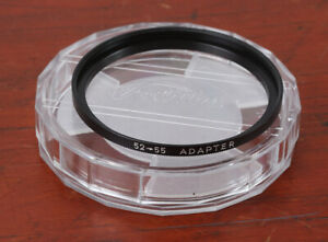 TOSHIBA STEP-UP FILTER RING ADAPTER, 52 TO 55MM/191128