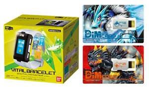 BANDAI Digital Monster White Vital Bracelet (Breath) Digimon w/Dim card Vol.1