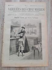 Journal illustré 1908  - Veillées des Chaumières - 28 Novembre - Petite José...