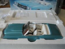 GMP 1970 CHEVROLET CHEVELLE SS CONVERTIBLE TURQUOISE 1:18 Diecast w/ Box