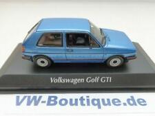 VOLKSWAGEN VW Golf 2 GTI von Maxi Minichamps in 1:43 blaumetallic 940054120