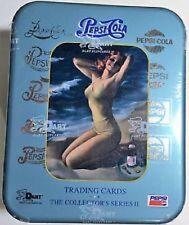 1995 Dart Flipcards PEPSI COLA SERIES 2 Trading Cards in Tin Box