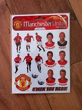 9 X MANCHESTER UNITED STICKERS FOOTBALL BIRTHDAY PARTY - LAST FEW