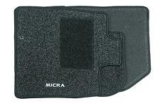 Nissan Micra Genuine Car Floor Mats Standard Tailored Front+Rear Set of 4