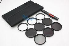58mm IR720+IR850+IR950 IR Infrared +Star 4X 6X 8X+ND 2 4 8 filter set +LENS PEN
