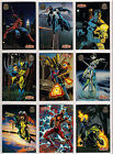 1994 Marvel Universe Series 5 200 Card Set plus the 9 card PowerBlast Chase set