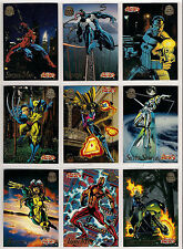 1994 Marvel Universe Series 5 200 Card Set plus the 9 card PowerBlast Chase set