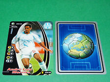 FOOTBALL CARD WIZARDS 2001-2002 ANDRE LUIZ OLYMPIQUE MARSEILLE OM PANINI