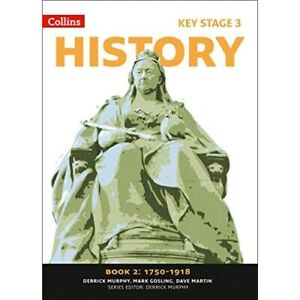 Collins Key Stage 3 History - Book 2 1750-1918 - Paperback NEW Murphy, Derrick 2