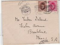 egypt 1925 stamps cover ref 19599