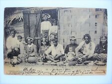 Tahiti Old Vintage Postcard French Polynesia Tahitian by Homes 1905 Undivided Pc