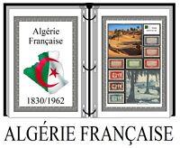 Album de timbres à imprimer  ALGÉRIE FRANÇAISE
