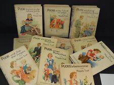 Konvolut Sammlung Pucki Bücher 50er Jahre 12x Mädchenbuch Vintage Mid Century
