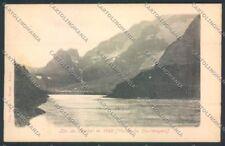 Aosta Courmayeur Lago Combal cartolina MQ4241