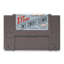 Snes console cleaner - Super Nintendo Cleaning Kit - 1Upcard Cartridge (New)