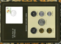 Coin Sets of All Nations Cape Verde 1977 - 1982 UNC w/card
