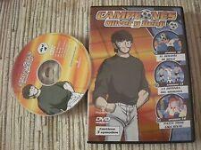 DVD SERIE ANIME CAMPEONES OLIVER BENJI CAPTAIN TSUBASA Nº4 (2) USADA BUEN ESTADO