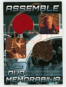 Thor & Heimdall MARVEL Avengers Assemble Duo Memorabilia Costume Wardrobe Card