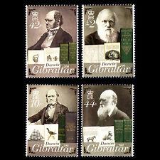 Gibraltar 2009 - 200th Anniv of the Birth of Charles Darwin - Sc 1211/4 MNH