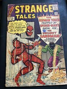 Strange Tales #115 (Dec 1963, Marvel) low grade 1.0