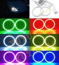 RGB LED lights For Mazda 3 2010-2013 car Headlight RGB Color angel eye halo ring