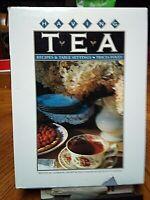 HAVING TEA recipes & table settings TRICIA FOLEY Catherine Calvert hcdj 1987