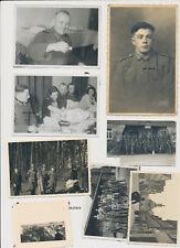 La raccolta fotografica 2.wk SOLDATI WEHRMACHT misto 8 pezzi (s969)