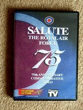 SALUTE - THE ROYAL AIR FORCE -  PLANES TV    - (1 DVD)  FREE P&P