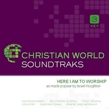 Israel Houghton - Here I Am To worship - Accompaniment/Performance Track – New C