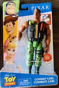 "New MATTEL Toy Story COMBAT CARL 9"" ACTION FIGURE Posable Woody Rex Chuckles"