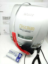 Sony D-191 CD Walkman Discman Portable Personal Music Compact Disc Player SILVER