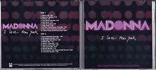 MADONNA - I LOVE NEW YORK PROMO DOUBLE REMIX CD SINGLE DANCE DOUBLE CD