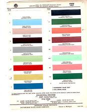 1957 FORD FAIRLANE RANCHERO CUSTOM VICTORIA TRUCK COURIER PAINT CHIPS DITZLER 2