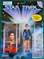 "Vash #6429 Star Trek:Next Generation Playmates 4½"" Action Figure Card"