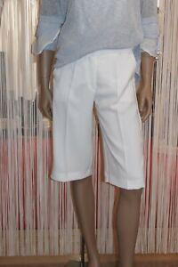Access Fashion NEU Bermuda Pant-Hose Gr.38 OVP 89.- Offwhite-Weiß