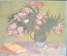 """""""OLEANDERS"""" by VINCENT VAN GOGH STILL LIFE Lithograph on Board *The Museum Shop*"""
