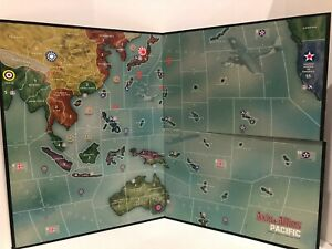 Axis & Allies 2000 Pacific Board Game - Replacement Game Board
