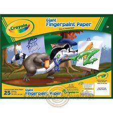 Crayola: Giant Fingerpaint Paper