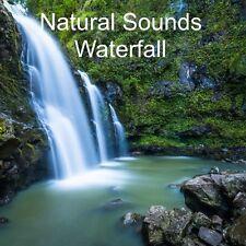 NATURAL SOUNDS WATERFALL CD CALMING RELAXATION DEEP SLEEP TINNITUS STRESS RELIEF