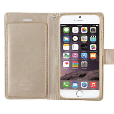Matte Leather Card Pocket Cases & Covers for iPhone 6